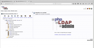Inicio do php Ldap Admin